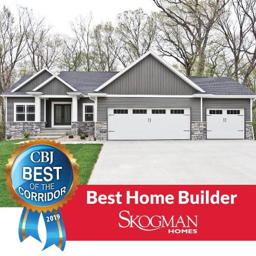 Skogman Homes Voted Best Home Builder in the Corridor