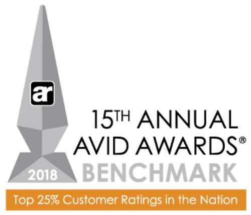Skogman Homes' Cedar Valley Division Wins 2018 Avid Award for Extraordinary Customer Experience>